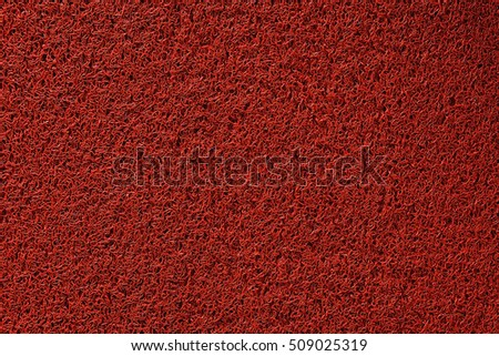 Red rough texture.