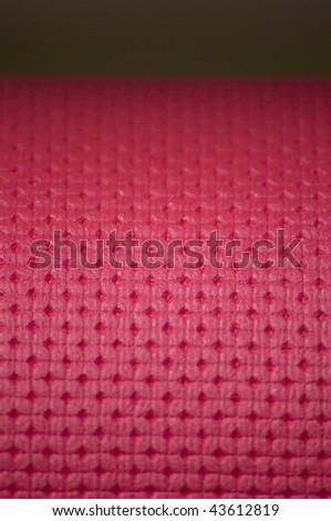 Red rubber texture - stock photo