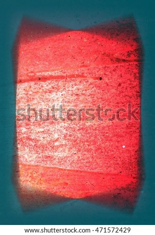 red rusty iron plate