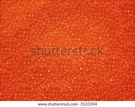 red salty roe - stock photo