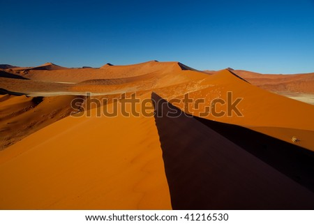 Red sand Dunes of Namibia