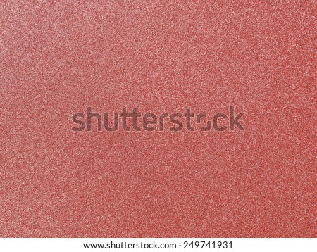 Red sandpaper texture background