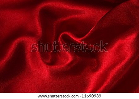 Red Satin Background