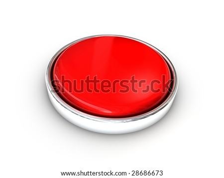 Red shiny blank button
