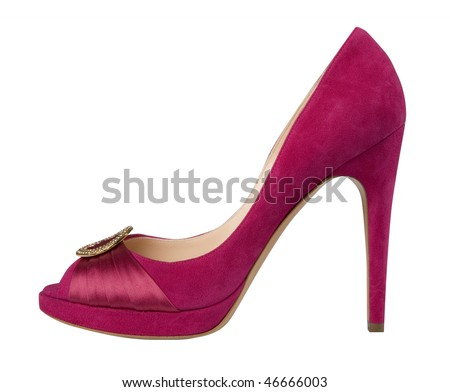 red shoe - stock photo