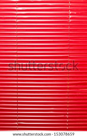Red shutter background - stock photo