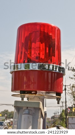 red silent - stock photo