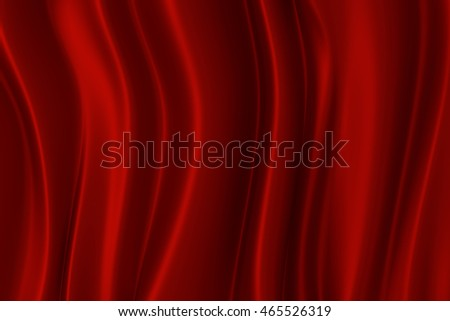 Red silk texture with space for text or image, 3d rendering