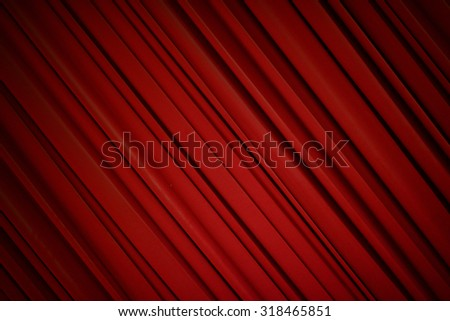 Red silky curtain background