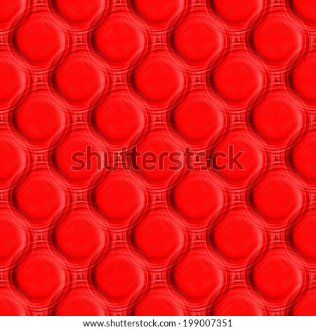 Red Skin Model for Upholstery and Interior Design Pattern.Background Texture. - stock photo