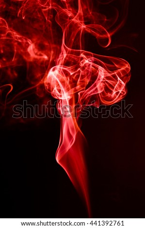 Red Smoke abstract background graphics.