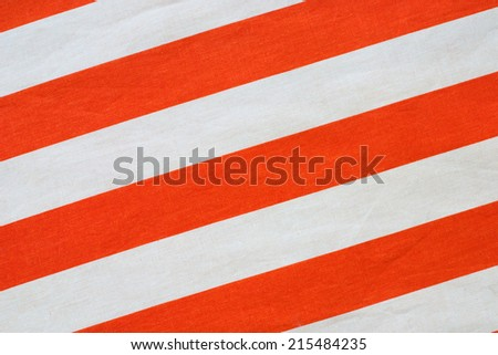 red stripes on linen texture