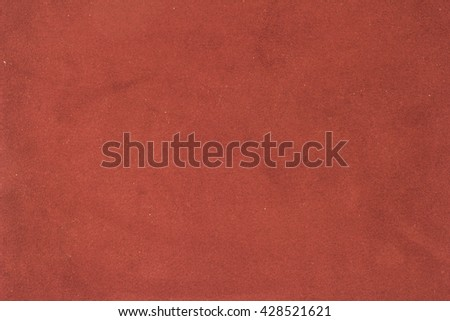 Red suede texture./Red suede texture - stock photo