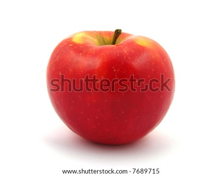 Red sweet apple