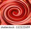 Red Swirl Background - stock photo