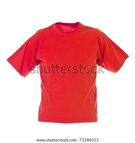 Red t-shirt Stock Photos, Illustrations, and Vector Art