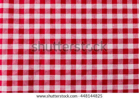 red tablecloth texture background