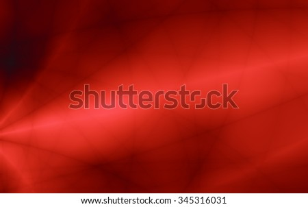 Red template illustration abstract smooth background - stock photo