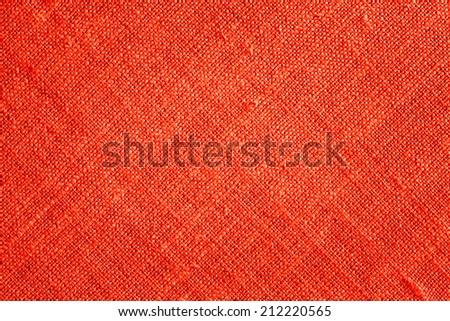 Red Textile Background./ Red Textile Background. - stock photo