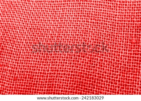 red textile background texture - stock photo