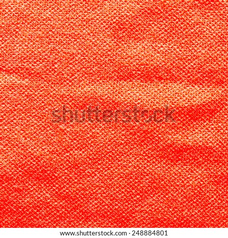 Red Textile Texture or Background/Red Textile - stock photo