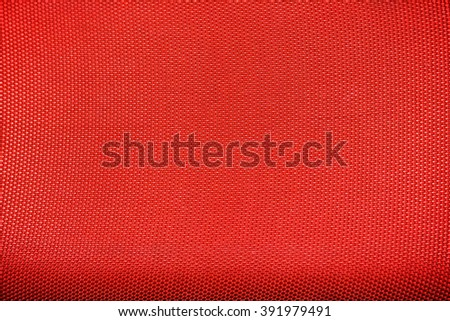 red texture of canvas - stock photo