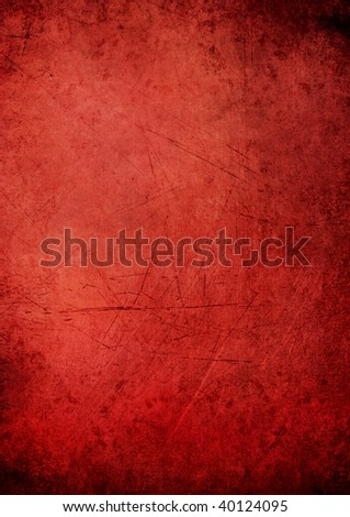 Red Textured Background - stock photo