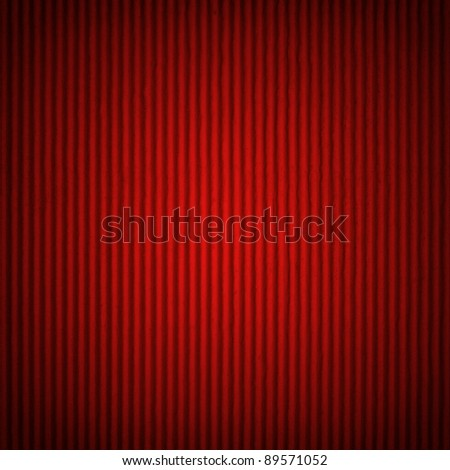 Red textured cardboard as a background - stock photo