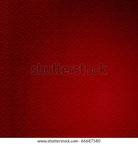 Red textured cloth as a background - stock photo