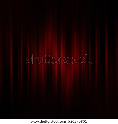 red theater curtain, abstract background