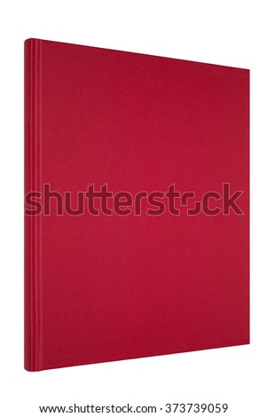Red thin book
