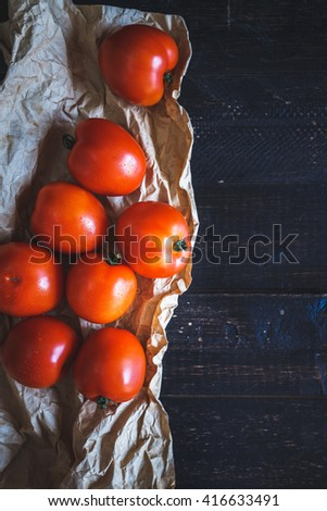 Red Tomatoes - stock photo