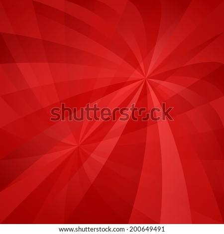 Red twirl pattern background - jpg version - stock photo
