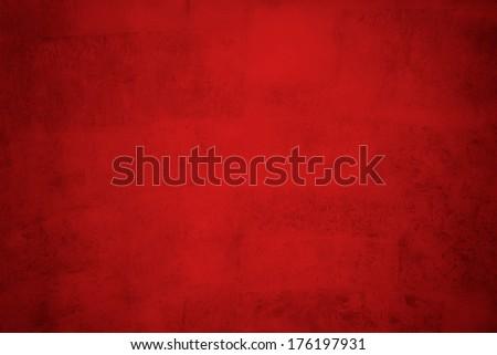 red valentine's day background - stock photo