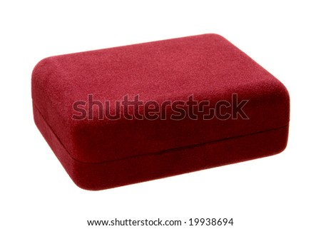Red Velvet Jewelry Gift Box