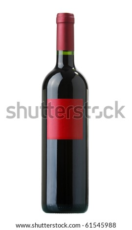 red vine bottle