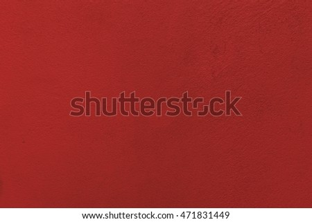 red wall background.
