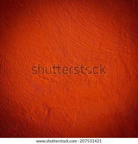 Red wall background close up texture - stock photo