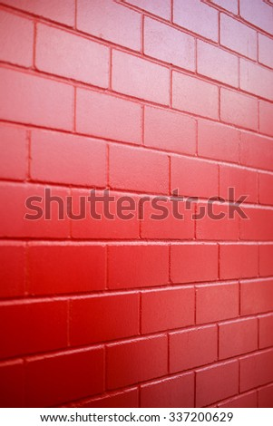 Red Wall Paint