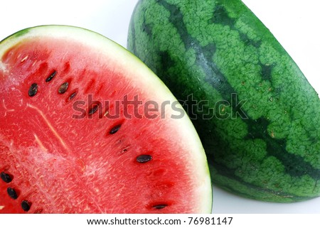 red watermelon fruit and fresh food berry for your work