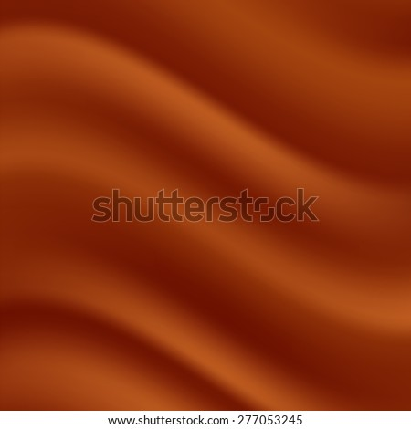 Red Wave Background. Abstract Red Satin Texture. - stock photo