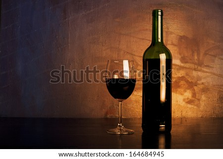 Red wine.. - stock photo