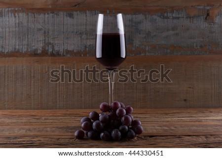Red Wine / Red Wine / Red Wine - stock photo