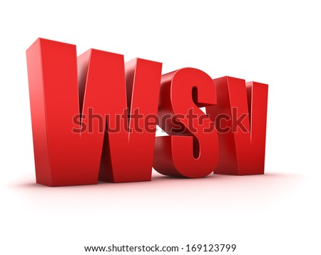 Red winter clearance sale text on white background - stock photo