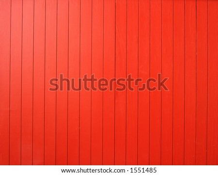 red wood wall - stock photo