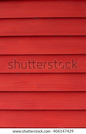 red wood wall background - stock photo