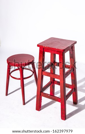 Red wooden chair  sc 1 st  Shutterstock & Wood Stool Stock Images Royalty-Free Images u0026 Vectors | Shutterstock islam-shia.org