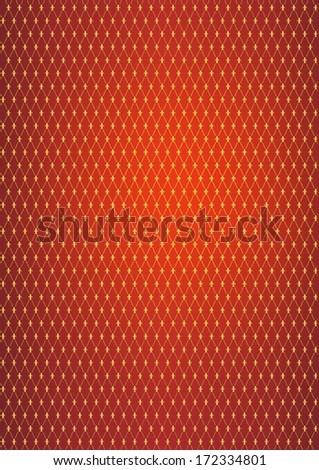 Reddish Medieval Abstract Pattern Background.