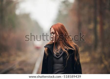 Scottish redhead girl