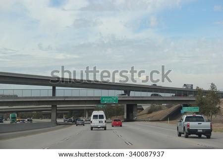 Redland california usa october 14 2015 stock photo 340087937 redland california usa october 14 2015 interstate 10 one of sciox Choice Image